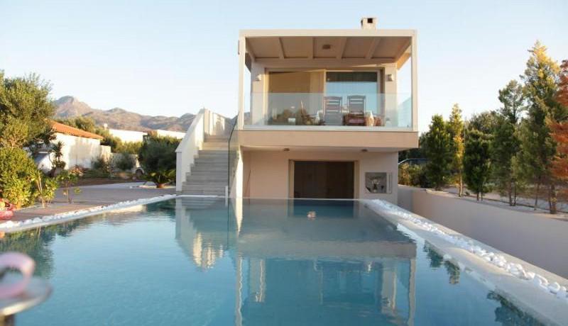 Beach Villa crete Greece 10