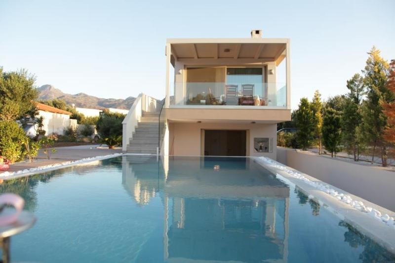 First at the Beach Villa for Sale with big plot for expansion, Ierapetra Crete