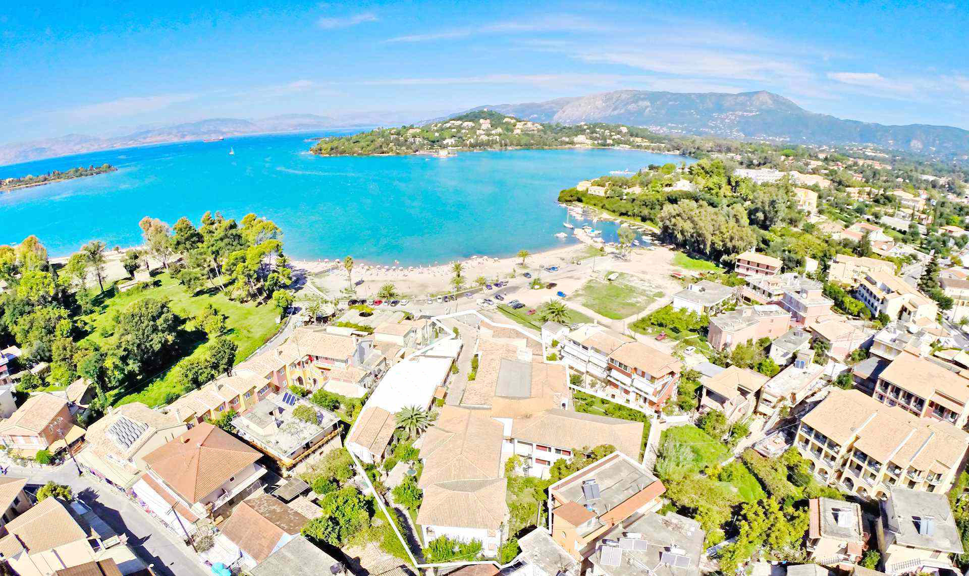Seafront Hotel at Corfu on Sale
