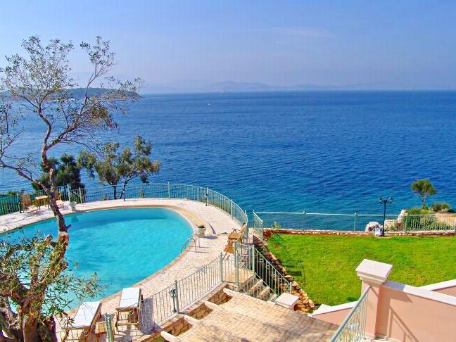 Luxury Seafront Villa Corfu
