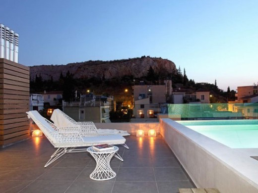 Maisonette With Roof Top Pool 3