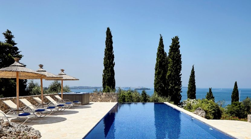 Sea View New Built villa at Kommeno, Corfu 1