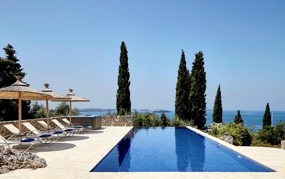 Corfu Greece Villa For Sale  (Dassia)