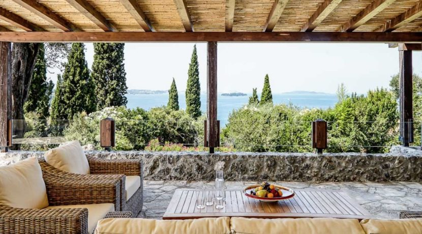 Sea View New Built villa at Kommeno, Corfu 11