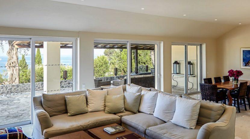 Sea View New Built villa at Kommeno, Corfu 13