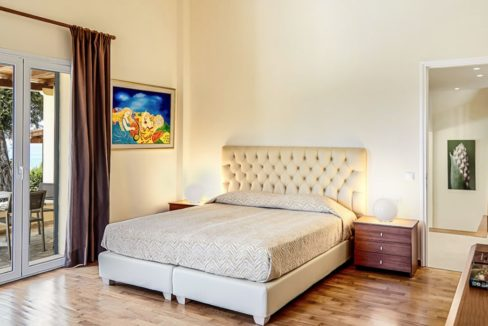 Sea View New Built villa at Kommeno, Corfu 15