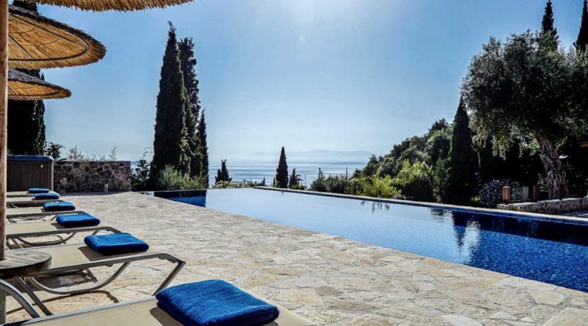 Sea View New Built villa at Kommeno, Corfu 2