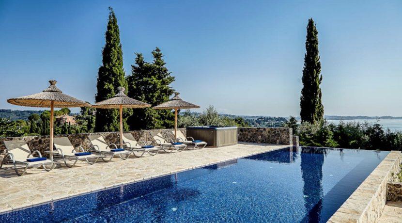 Sea View New Built villa at Kommeno, Corfu 26