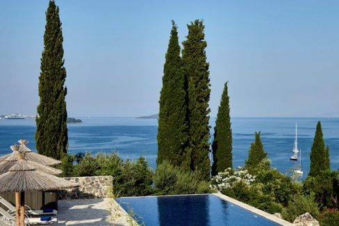 Sea View New Built villa at Kommeno, Corfu 3
