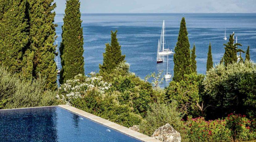 Sea View New Built villa at Kommeno, Corfu 4