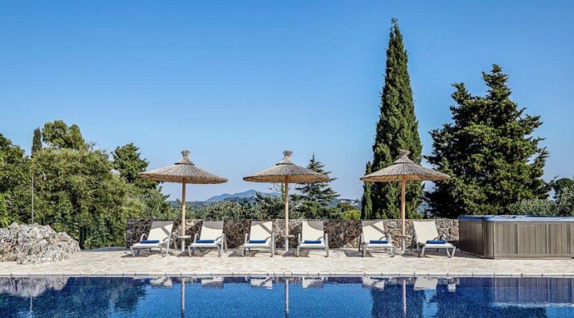 Sea View New Built villa at Kommeno, Corfu 5