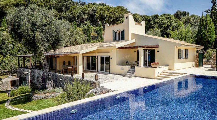 Sea View New Built villa at Kommeno, Corfu 9