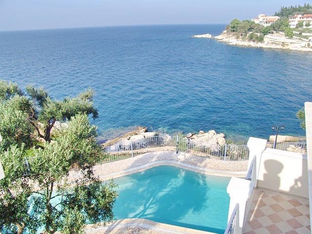 Seafront Villa Kassiopi Corfu