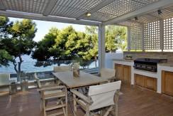 Beachfront house in Attica, Greece
