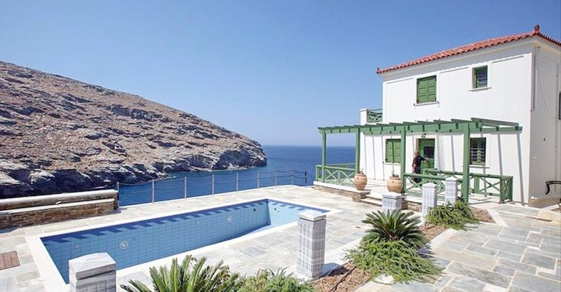Seafront Villa Greece For Sale