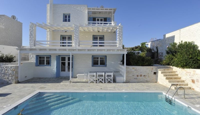 Villa For Sale Paros by the sea, Beachfront Villa Paros