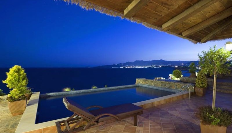 Luxury Villa With Private Pool And Jacuzzi Crete