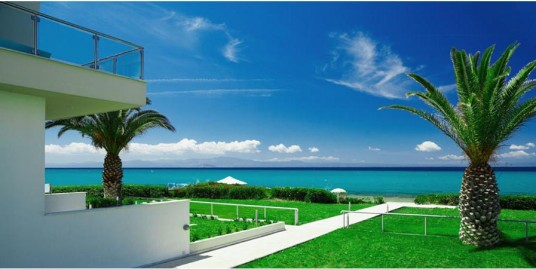 Seafront House For Sale Chanioti Chalkidiki