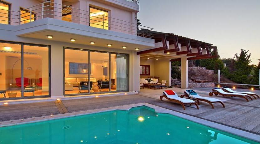Sea View Villa Attica 11