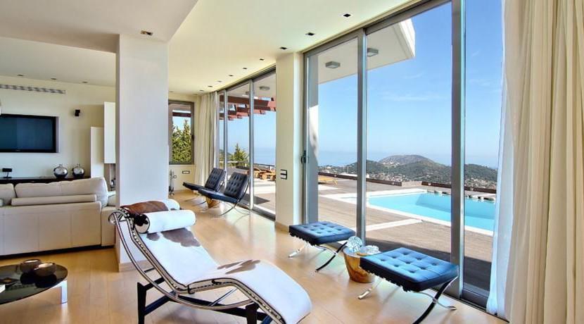 Sea View Villa Attica 25