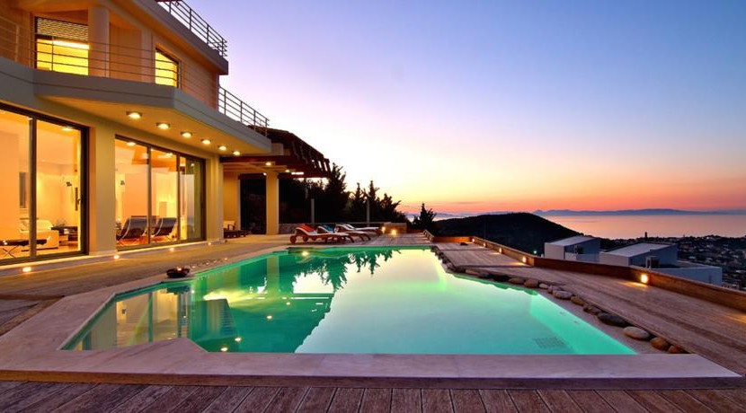 Luxury Top Villa with Pool and Sea Views Anavissos, Home for sale in Greece, Luxury Estate, Top Villas
