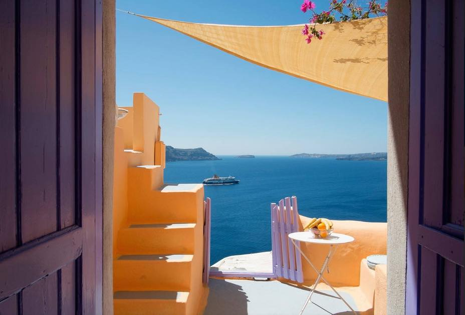 Caldera House to Rent Santorini