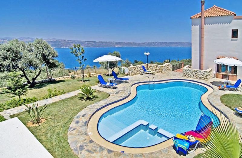 Luxury villas for Rent in Crete Chania