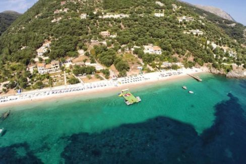 Seafront Hotel for Sale Corfu - Hotels for sale in Corfu, Beachfront Hotel for Sale Corfu, Luxury Seafront Estate in Corfu, Beachfront Property in Corfu 1