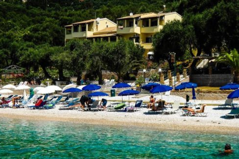 Seafront Hotel for Sale Corfu - Hotels for sale in Corfu, Beachfront Hotel for Sale Corfu, Luxury Seafront Estate in Corfu, Beachfront Property in Corfu 6