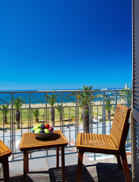 Seafront Villa Crete, Rethimno, operating as Hotel with 3 Apartments