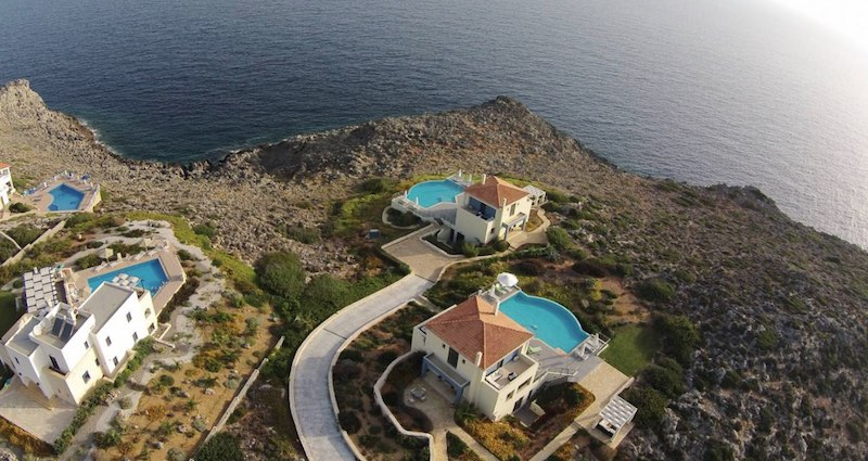 Seafront Villa in Crete