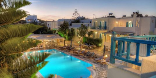 Hotel For Sale in Paros Greece