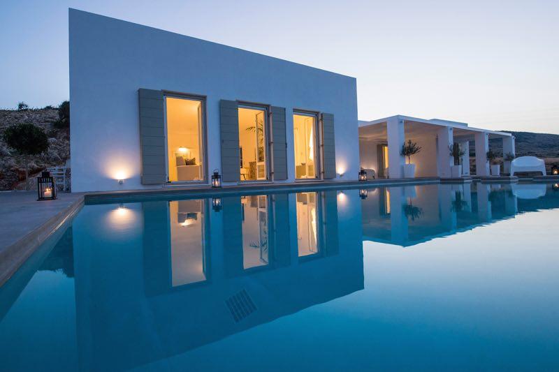 Luxury Villa In Paros Island With Sea Views
