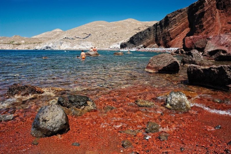 Red Beach Santorini -The No1 Beach in the World 0
