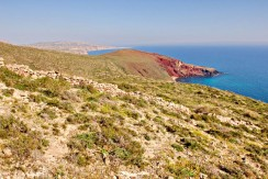 Santorini Red Beach 1