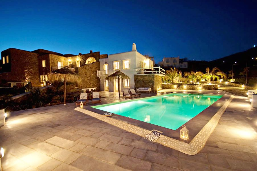 Luxury Rental Villa Mykonos