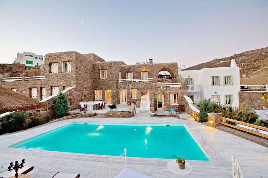 Best Island Beaches For Partying Mykonos St Barts: Rent Luxury Villa Mykonos GREECE