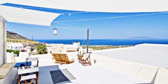3 Houses at Oia Finikia with Sea View