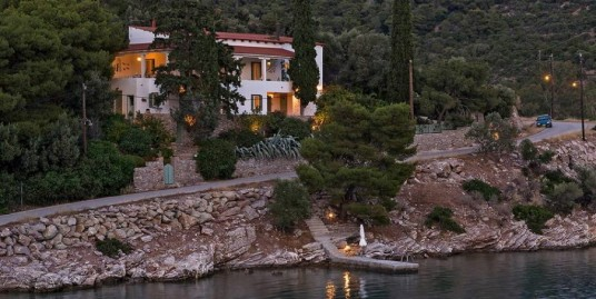 Excellent Seafront Villa at Poros, near Athens