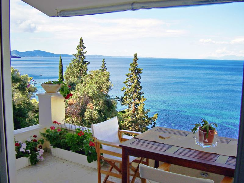 Seafront Villa For Corfu Greece