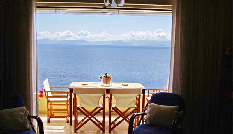 seafront villa corfu greece 8