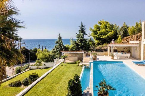 Beautiful beachfront Villa at Halkidiki, Kassandra Halkidiki, Skioni, Halkidiki Properties, Seafront Villa Halkdidiki Greece 32
