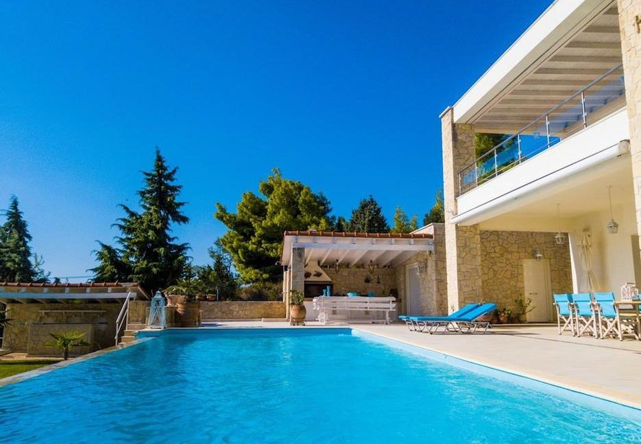 Beautiful beachfront Villa at Halkidiki, Kassandra Halkidiki, Skioni, Halkidiki Properties, Seafront Villa Halkdidiki Greece 6