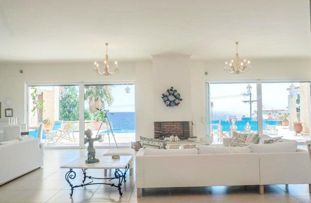 Beautiful beachfront Villa at Halkidiki, Kassandra Halkidiki, Skioni, Halkidiki Properties, Seafront Villa Halkdidiki Greece 9