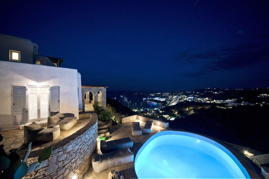 Holiday Villa in Mykonos Greece