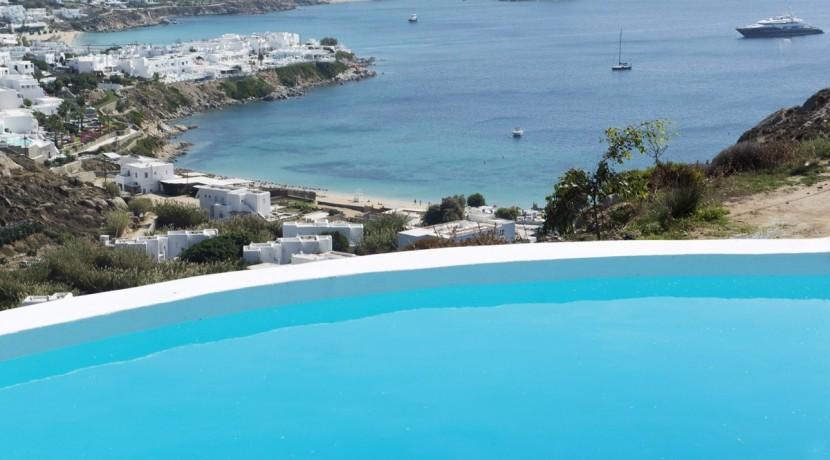 Best Island Beaches For Partying Mykonos St Barts: Villa In Mykonos With Excellent View, Near Psarou Beach