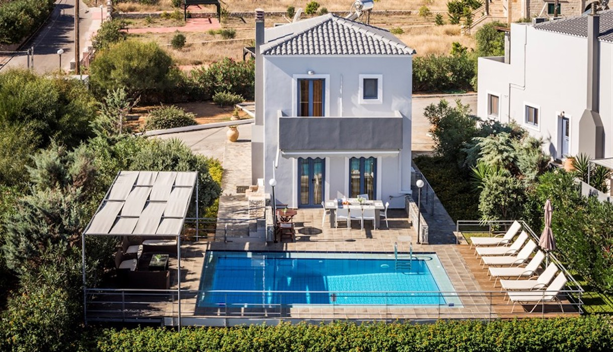 House with Pool for Sale at  Chania Crete