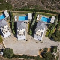 3 Houses With Pool For Sale At Chania Crete, Real Estate Greece, Luxury Estate,