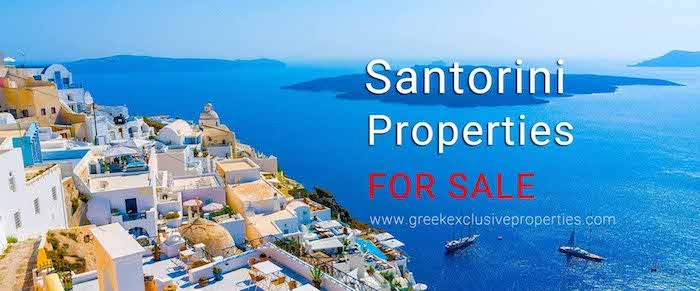Real Estate in Santorini Greece