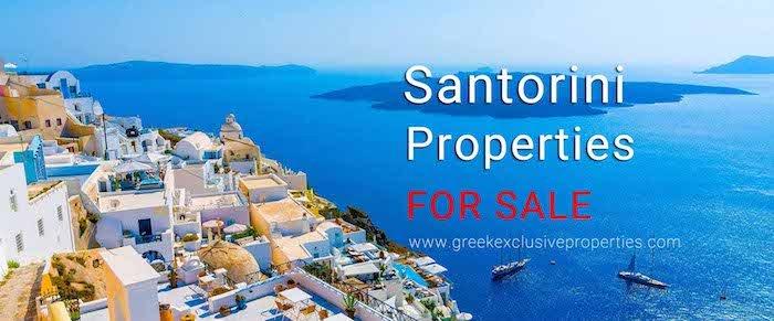 Real Estate in Santorini Greece